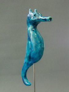 Seahorse, Ceramic, 20 x 7 x 7 cm, 2013