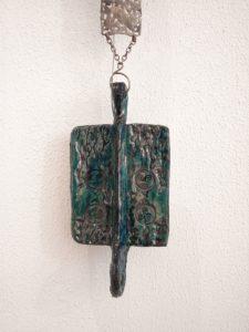Sea Biscuits, Keramiek & Djokja Zilver, Wandobject, 150 x 15 cm, 2007, VERKOCHT