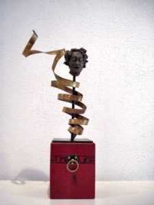 Pandora's Box, Keramiek, 25 x 8 x 8 cm, 2007, VERKOCHT