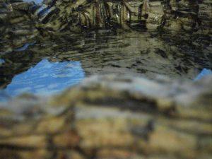 Fons Vitae (Rotslandschap), Keramiek, Waterbekken, 18 x 40 x 40 cm, 2008